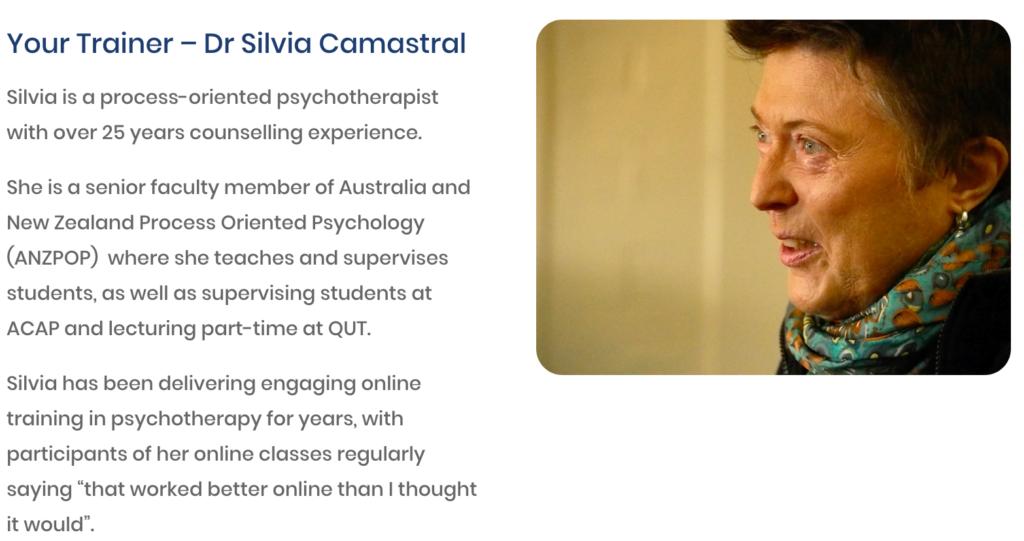 Dr Silvia Camastral